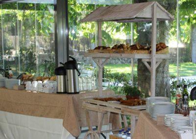 Evento empresa terraza cubierta: desayunos, comidas, reuniones de empresas, fiestas