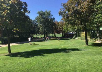 Espacio Herrería golf padel tenis piscinas eventos campamentos cumpleaños