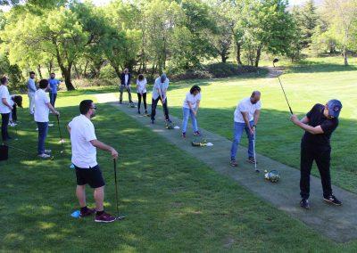 evento empresa espacio herrería golf clase y clinic