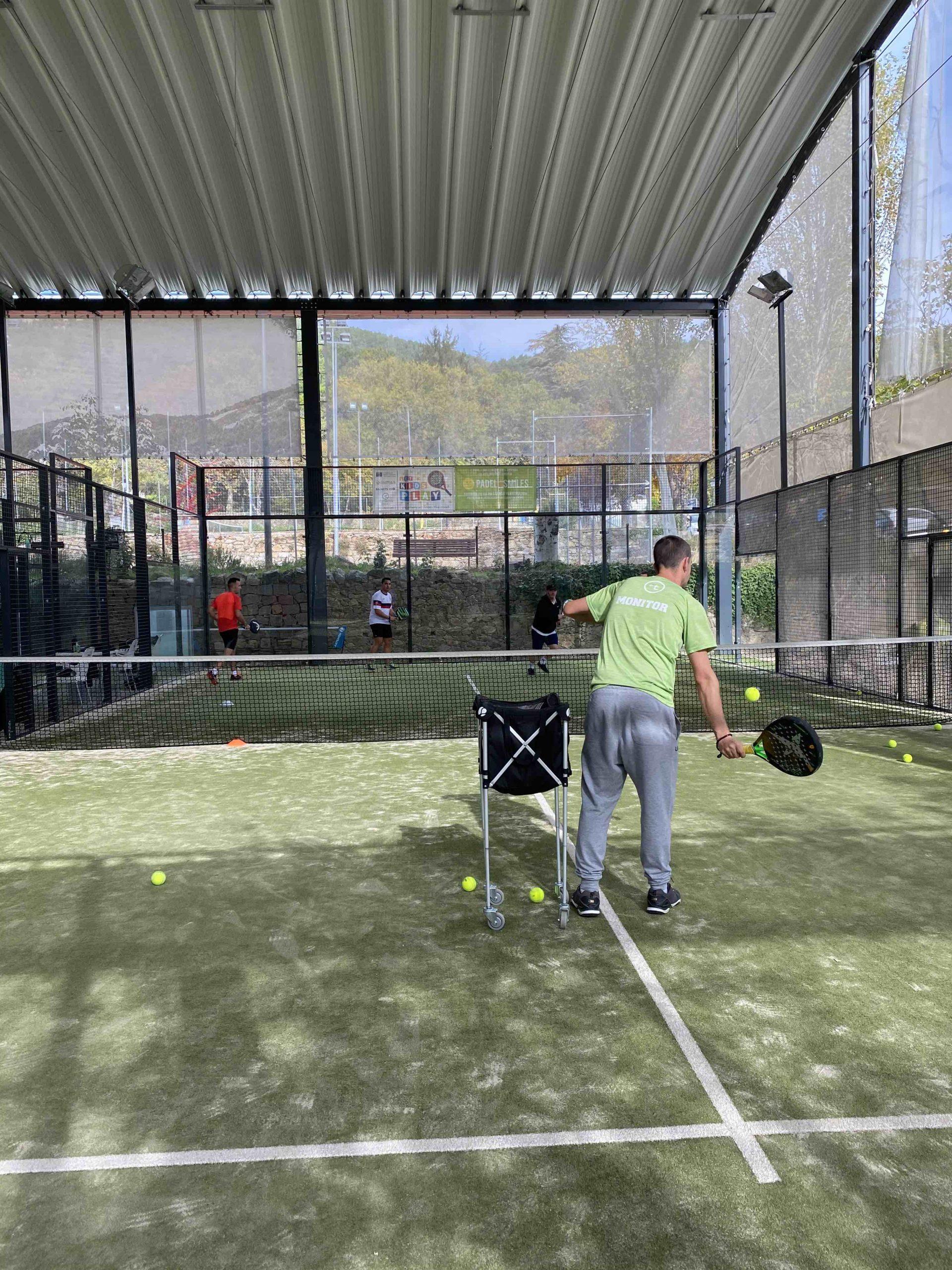 clases de padel y tenis escorial